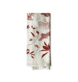 June & December Red Boughs & Berry Napkin - Set of 4