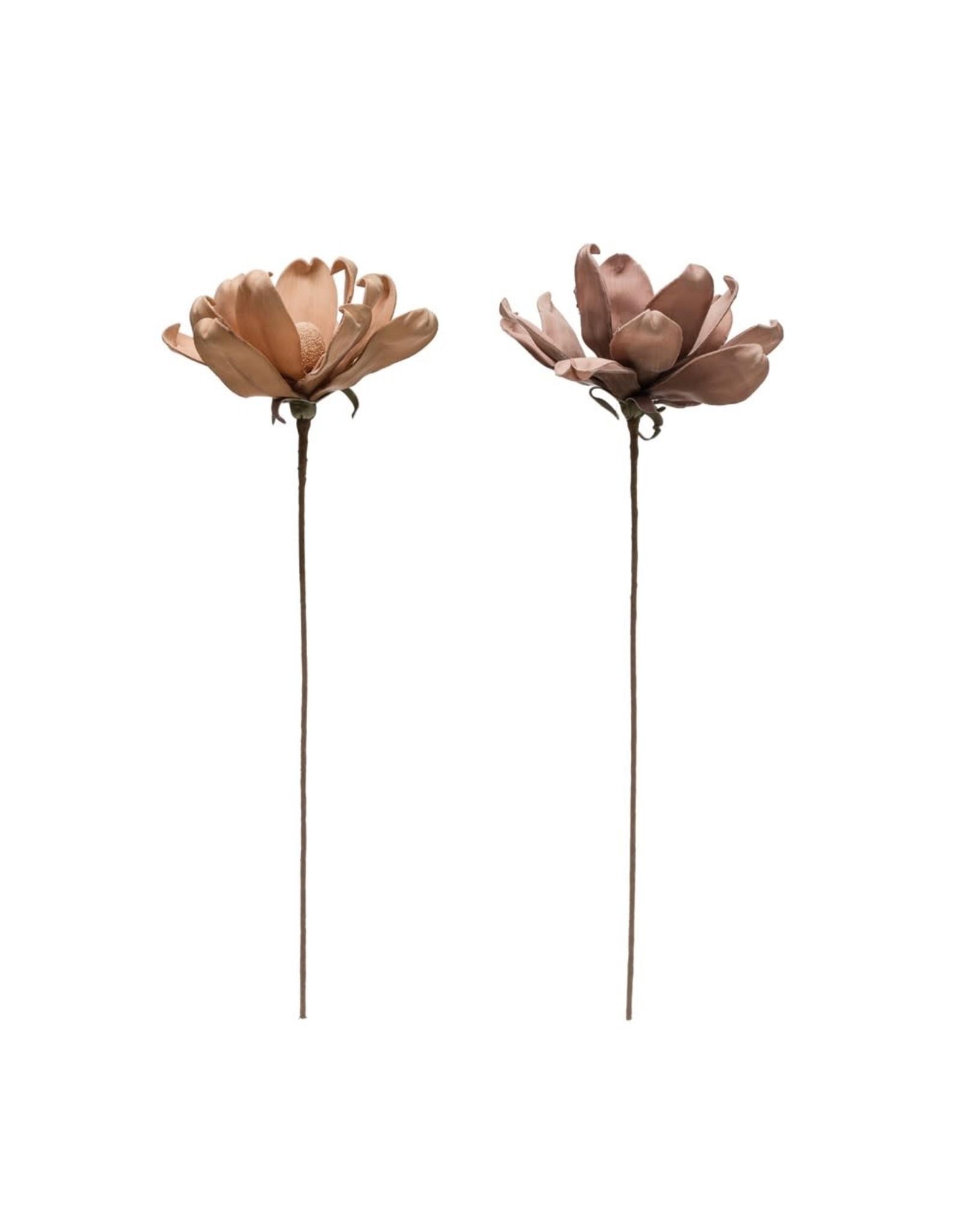 "Creative Co-op 25 1/2"" Faux Flower - Blush"