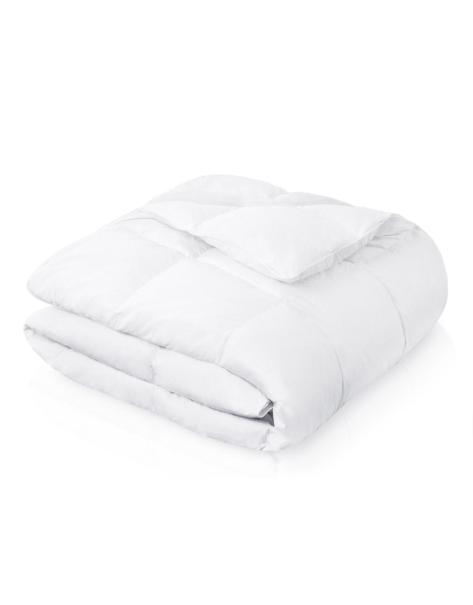 Malouf Woven Down Blend Comforter, Full, White