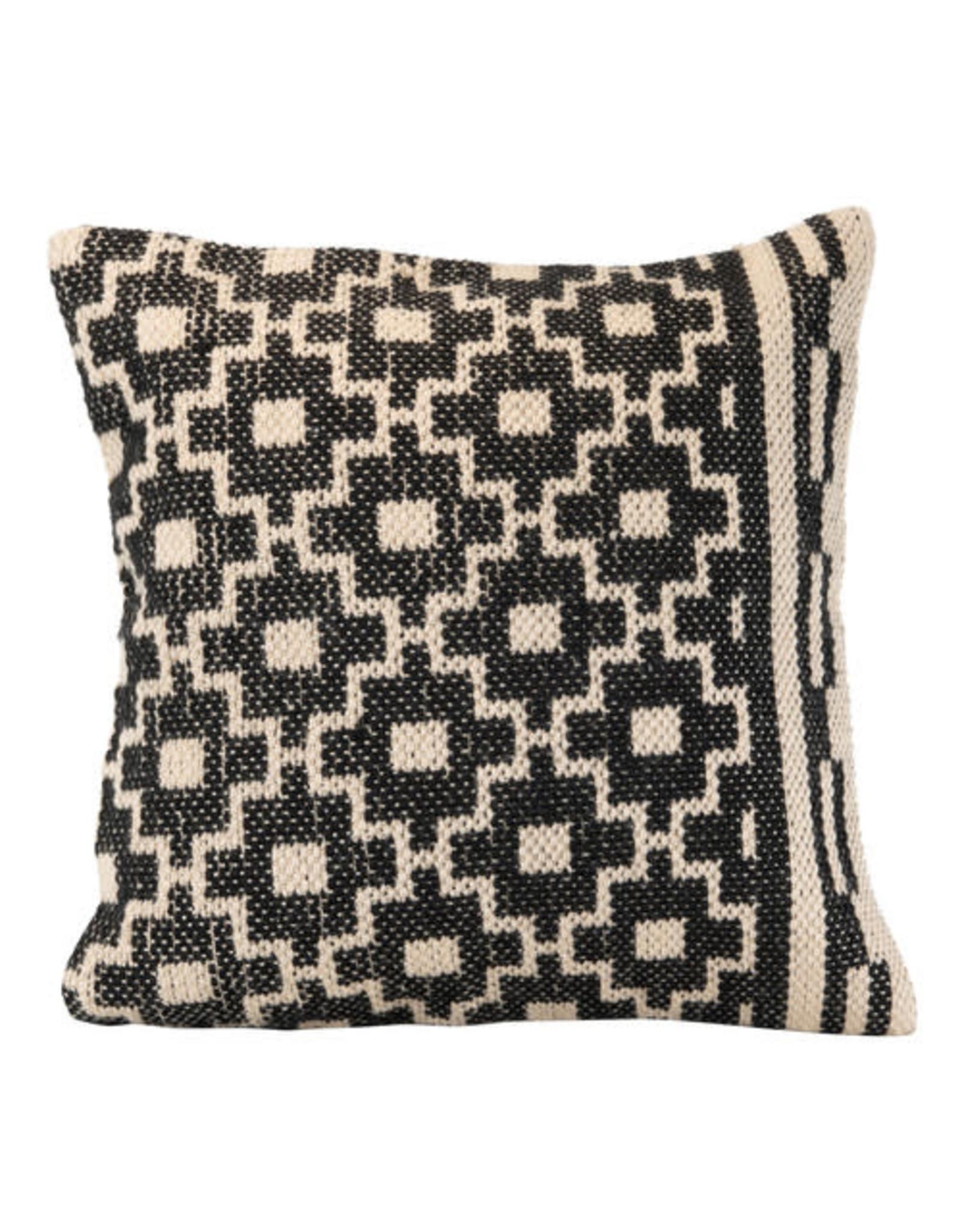 Foreside Home & Garden 18x18 Hand Woven Puebla Pillow