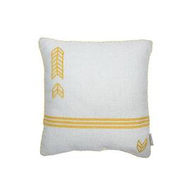 Foreside Home & Garden 18x18 Hand Woven Louie Pillow
