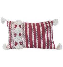 Foreside Home & Garden 14x22 Hand Woven Jules Pillow