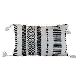 Foreside Home & Garden 14x22 Hand Woven Waki Pillow