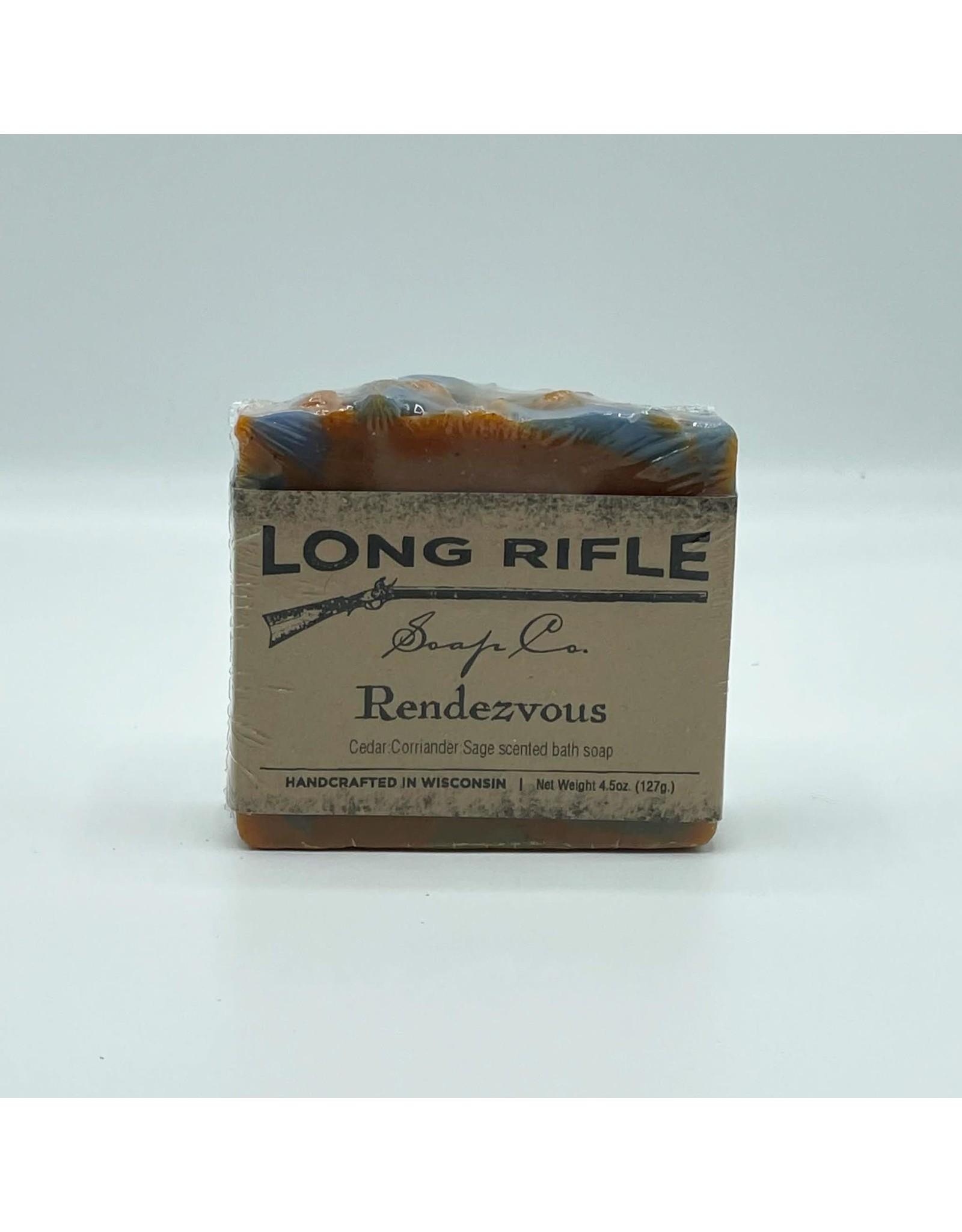 Long Rifle Men's Bar Soap - Rendezvous