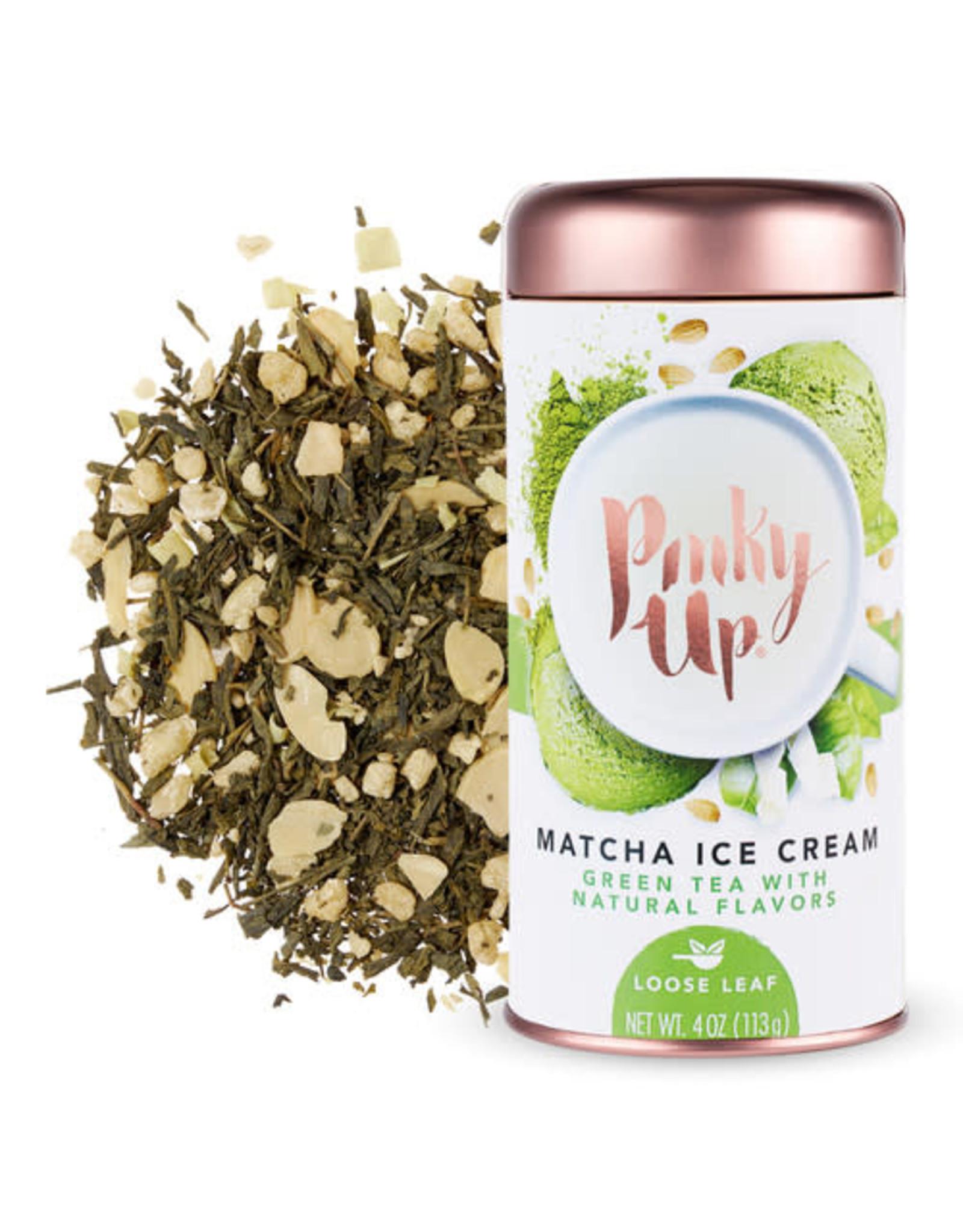 Pinky Up Matcha Ice Cream Loose Leaf Tea