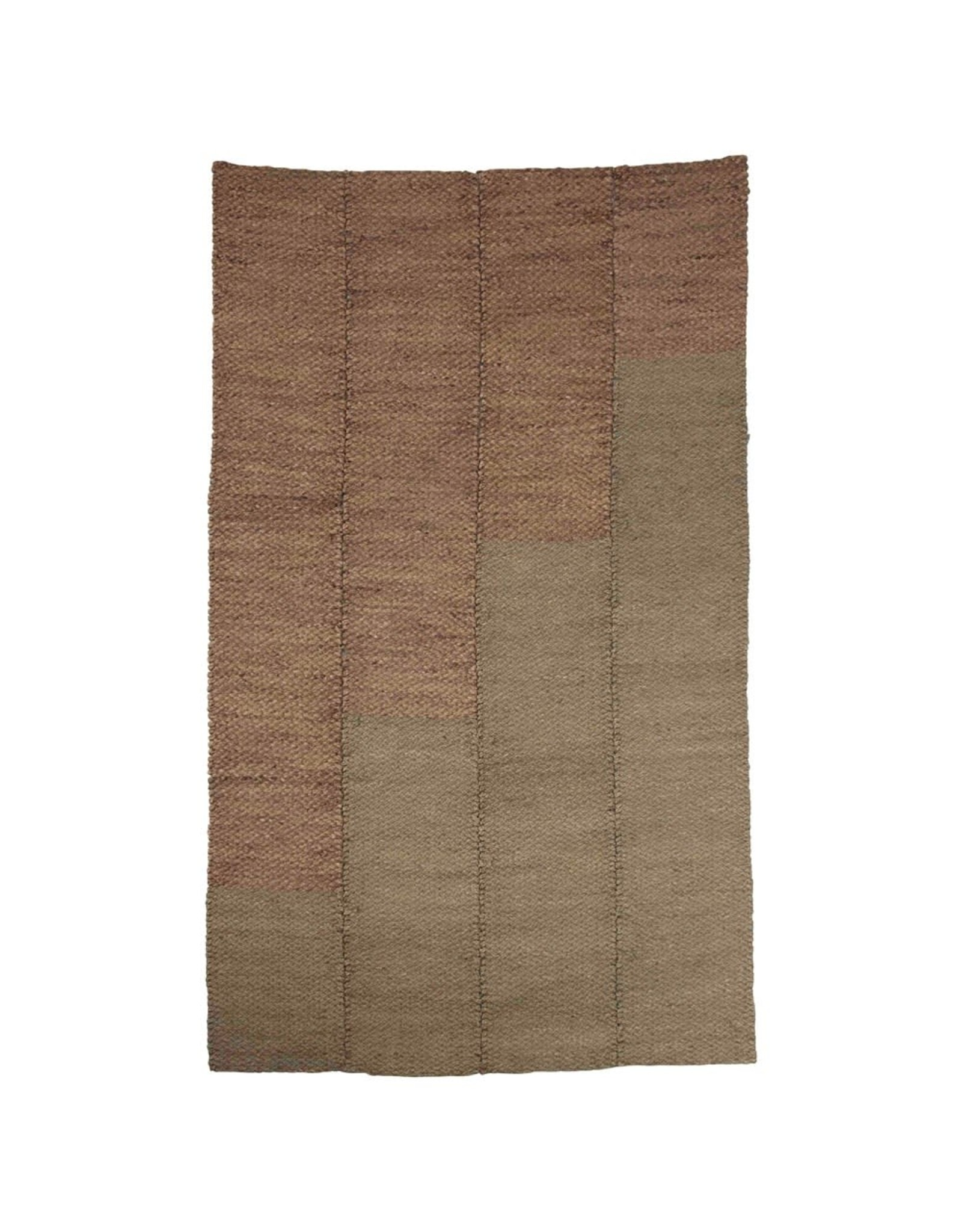 Creative Co-op 5' x 8' Hand-Woven Seagrass & Water Hyacinth Rug
