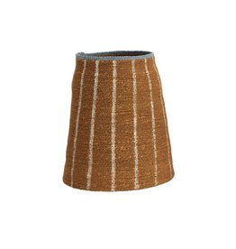 "Creative Co-op 8""x 11"" Hand-Woven  Seagrass Basket, Burnt Siena"