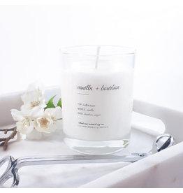 Edisto & Co Vanilla & Bourbon 9.5 oz Candle