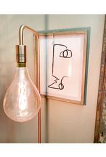 """The Florist & The Merchant 61"""" Copper Standing Floor Lamp"""