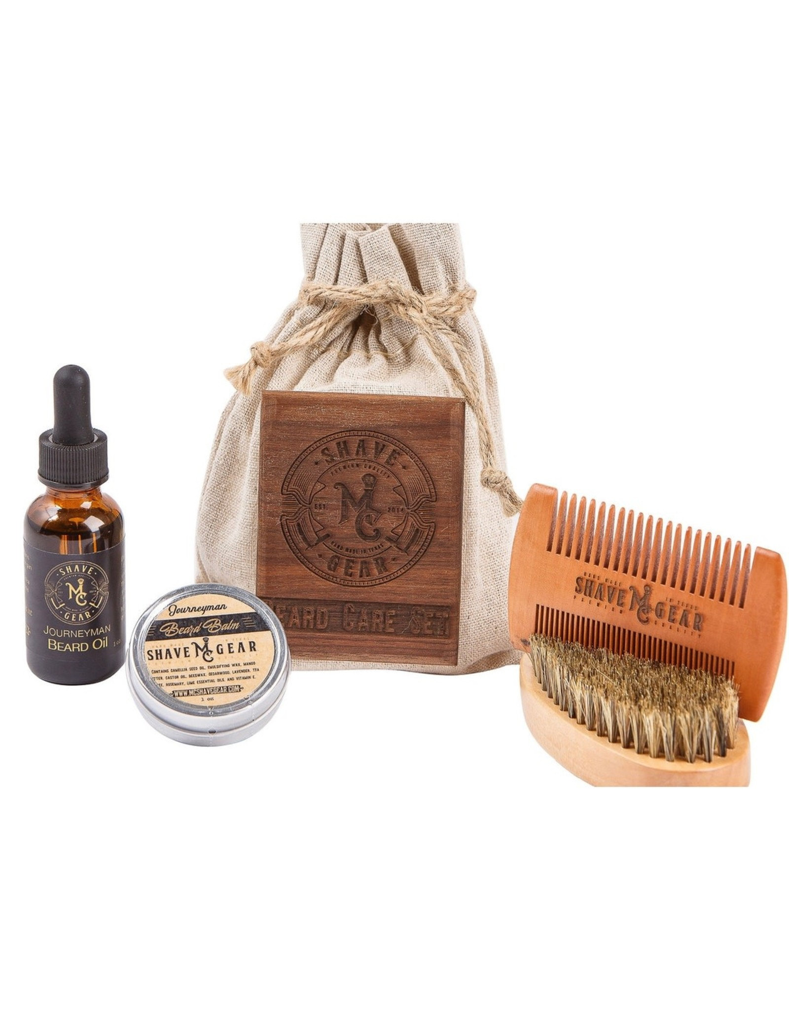 MC Shave Gear Beard Care Kit - Journeyman Scent