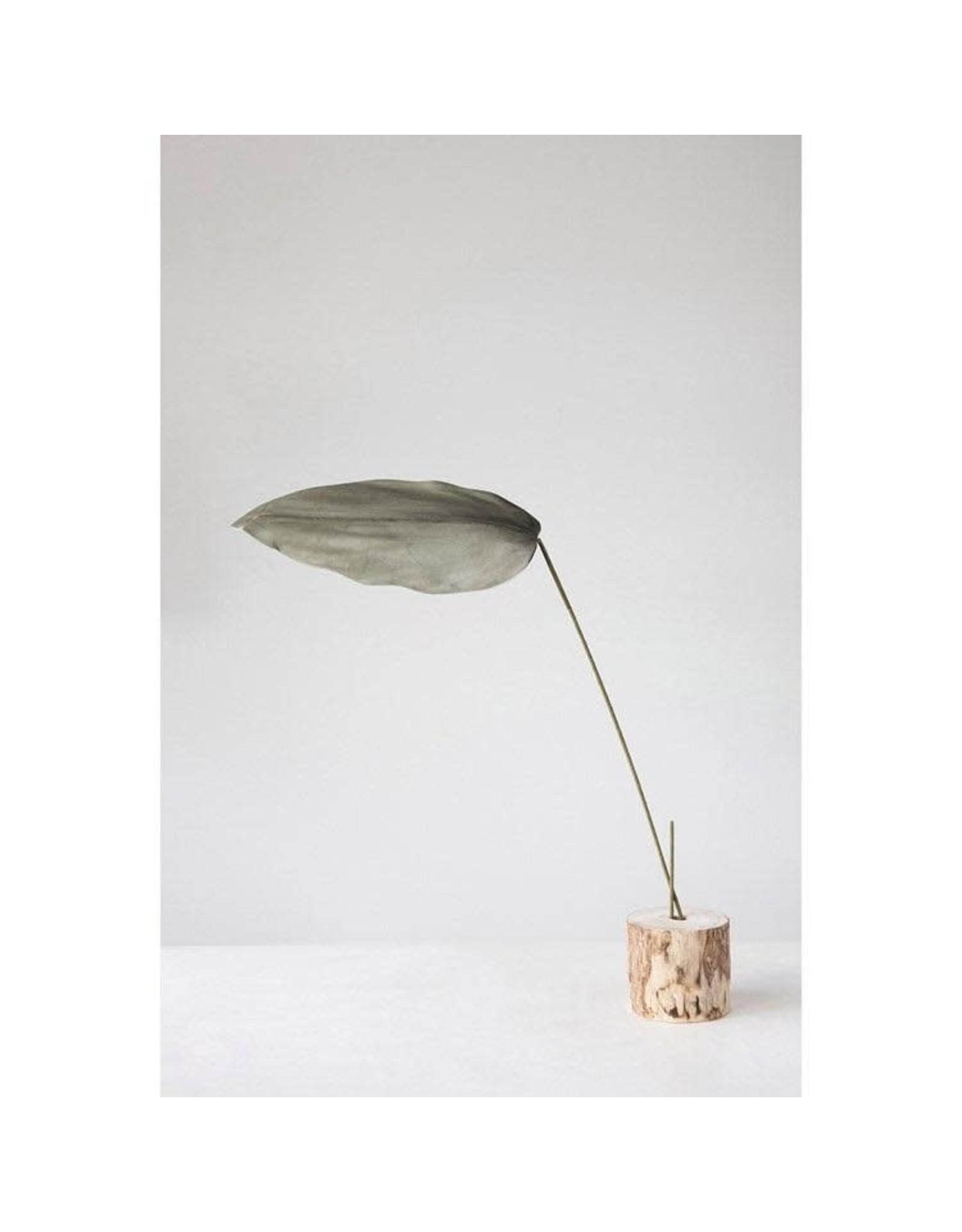 "Creative Co-op 47"" Faux Leaf Branch - Green"