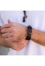 Anju Jewelry Aadi Buckle Men's Bracelet