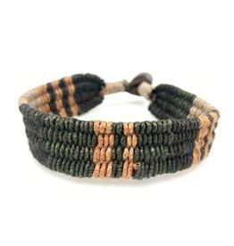 Anju Jewelry Aadi Cognac Twine Men's Bracelet