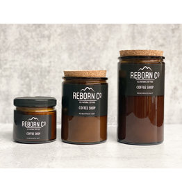 Reborn Co. All Natural Soy Candle - Coffee Shop
