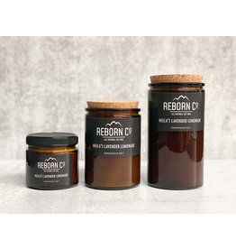 Reborn Co. All Natural Soy Candle - Neela's Lavender Lemonade