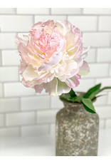 The Florist & The Merchant Peony Stem - Light Pink