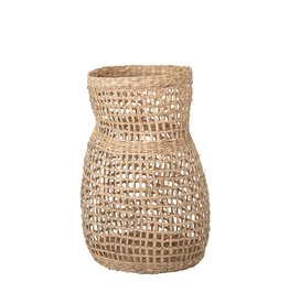 """Bloomingville 20"""" Hand-Woven Natural Seagrass Vase"""