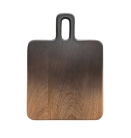 """Bloomingville 14"""" L Ombre Mango Wood Cheese Board"""