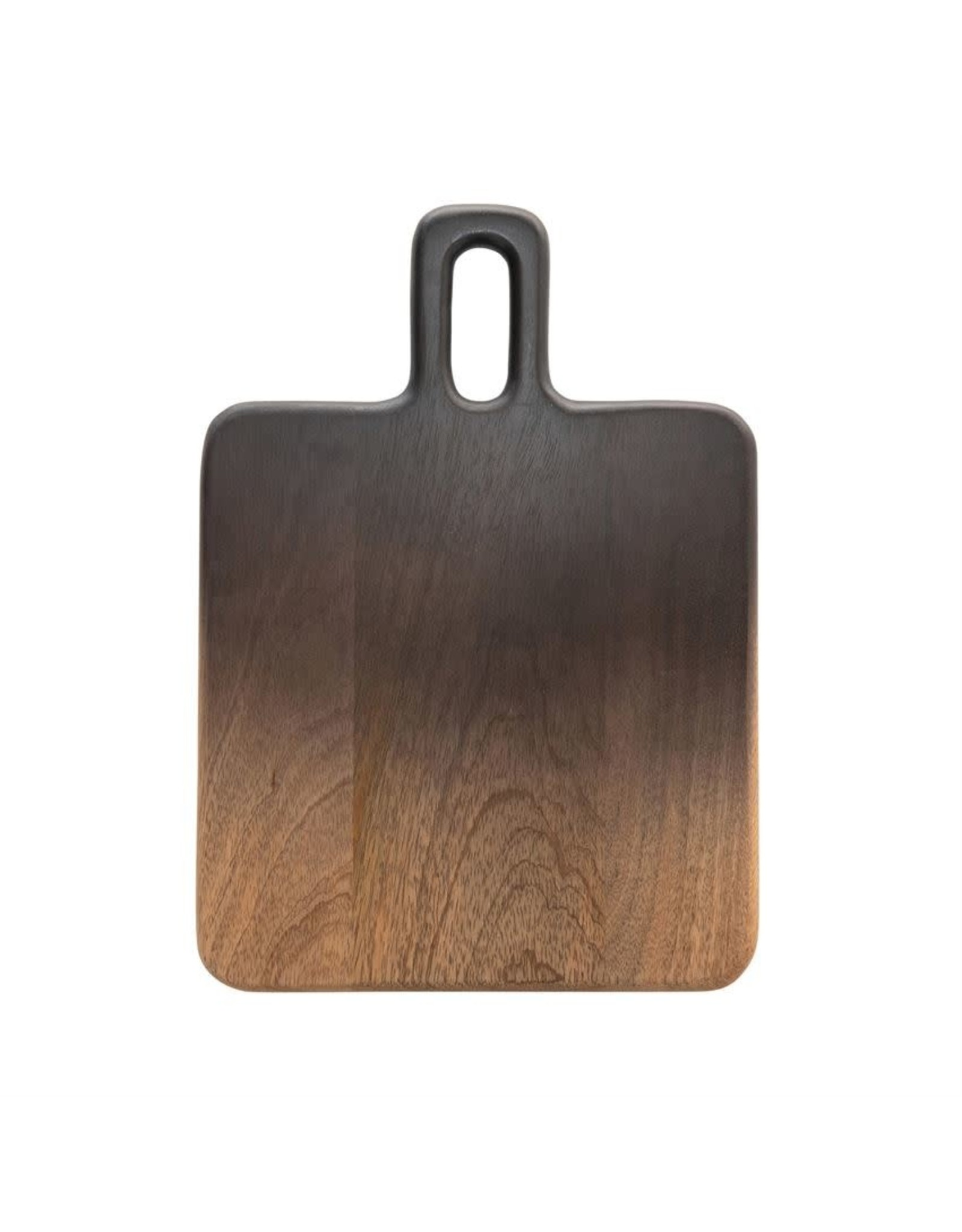 "Bloomingville 14"" L Ombre Mango Wood Cutting Board"