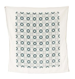 June & December Chicory Kitchen Towel - Slate