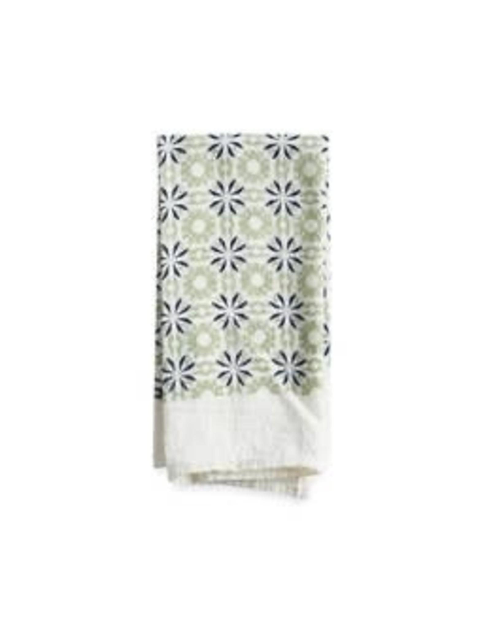 June & December Chicory Napkins Set of 4 - Mint
