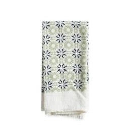 June & December Chicory Napkins Set of 4 - Mint