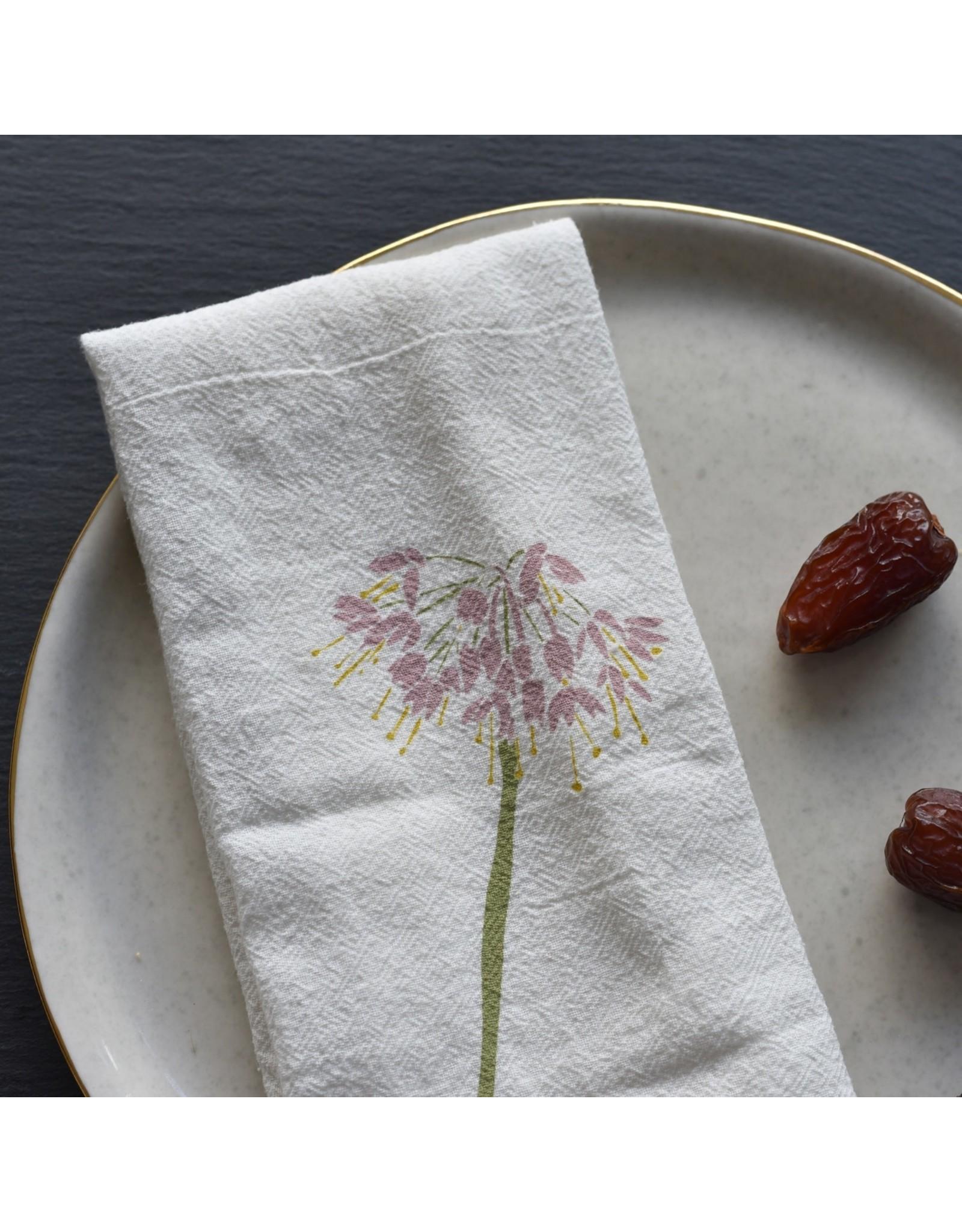 June & December Thistle + Wild Onion Napkins Set of 4