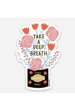 Gingiber Deep Breath Sticker