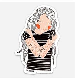 Gingiber Self Care Sticker