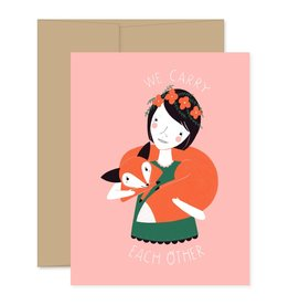 Gingiber We Carry Each Other Card