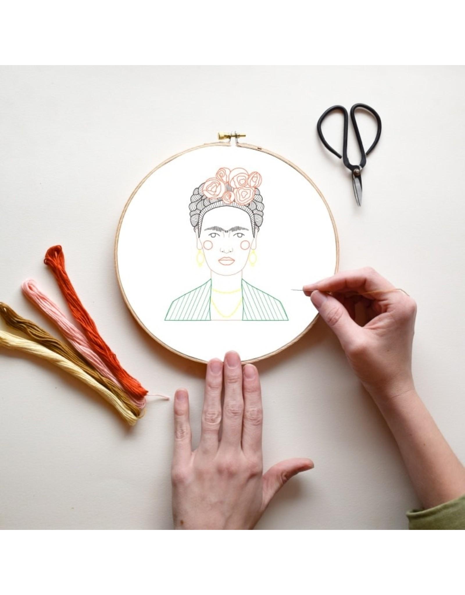 Gingiber Frida DIY Embroidery Kit