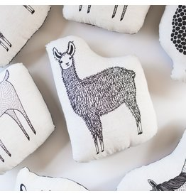 "Gingiber 9"" Llama Pillow"