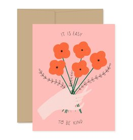 Gingiber Easy To Be Kind Card