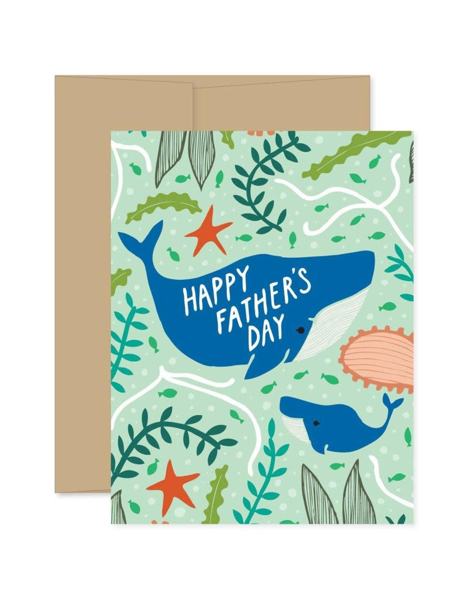 Gingiber Father's Day Whale Card