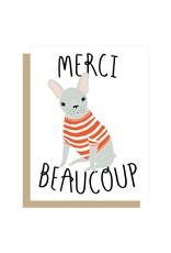 Gingiber Merci Beaucoup Card