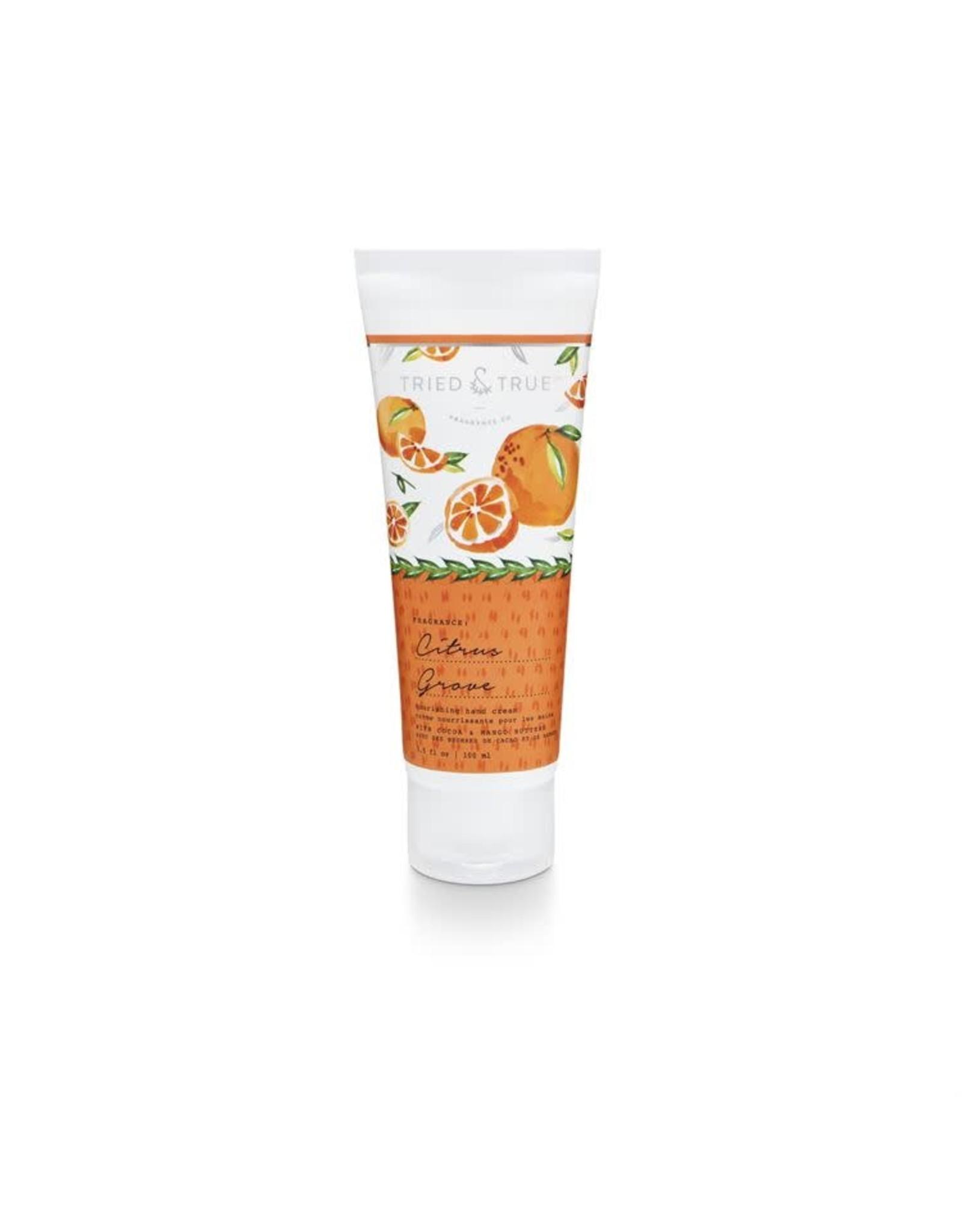 Tried & True 3.5 oz. Hand Cream - Citrus Grove