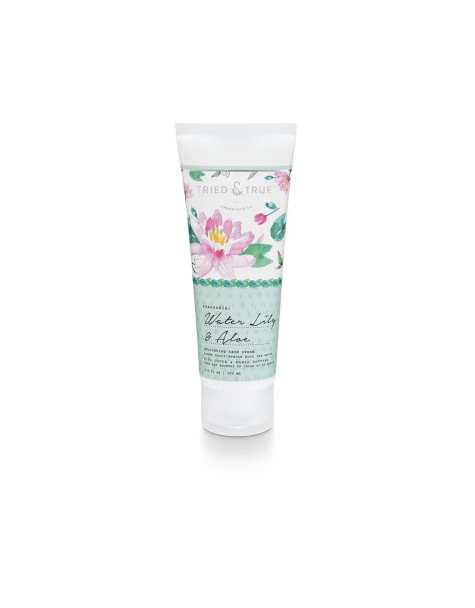 The Florist & The Merchant 3.5 oz Hand Cream - Water Lily & Aloe
