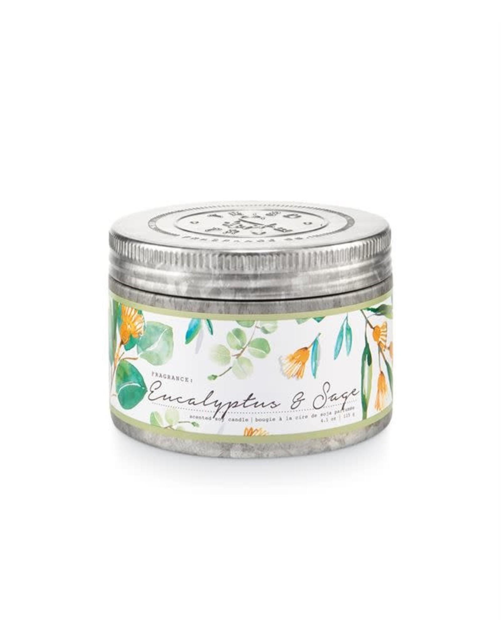 Tried & True 4.1 oz Tin Candle - Eucalyptus & Sage