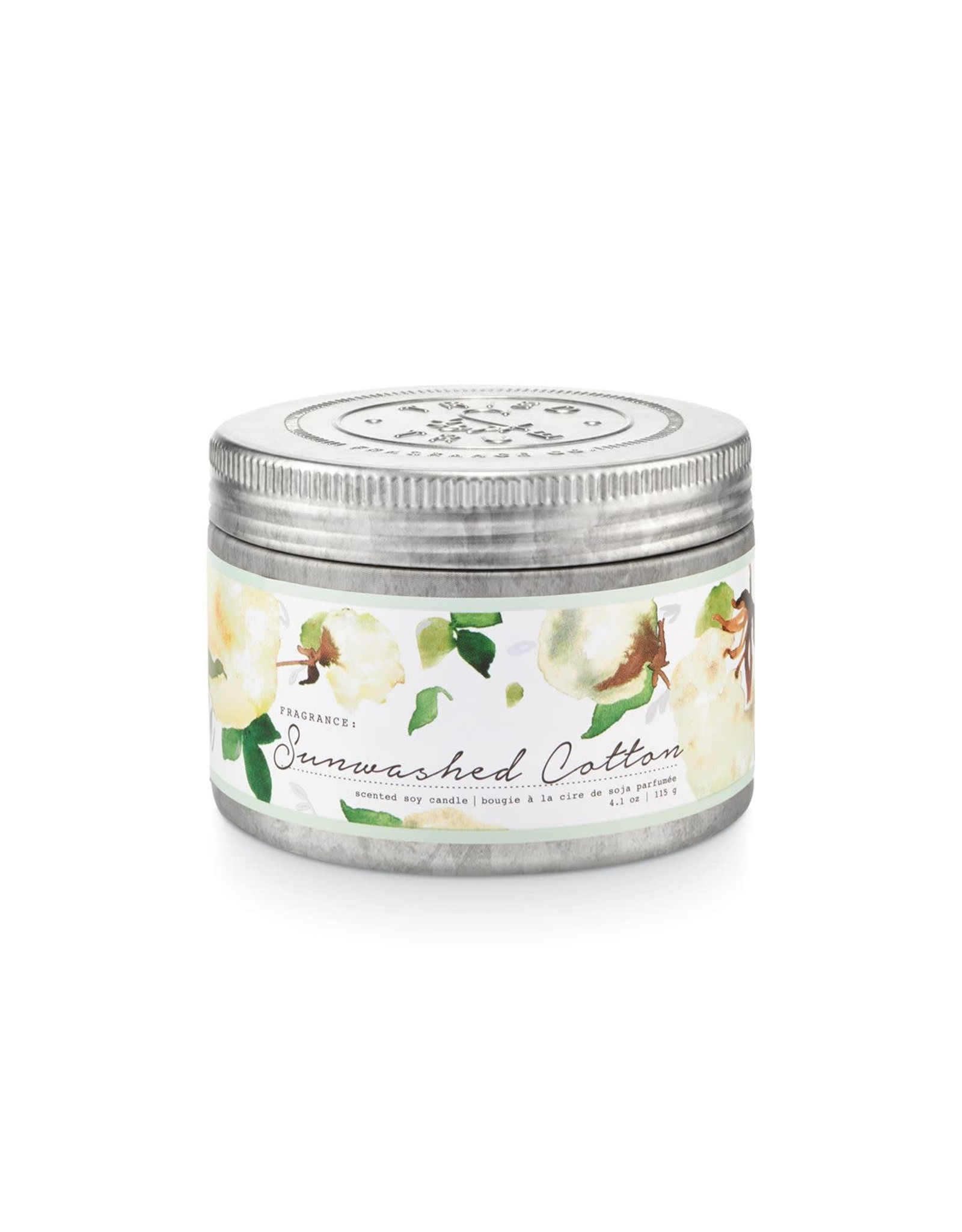 Tried & True 4.1 oz Tin Candle - Sunwashed Cotton