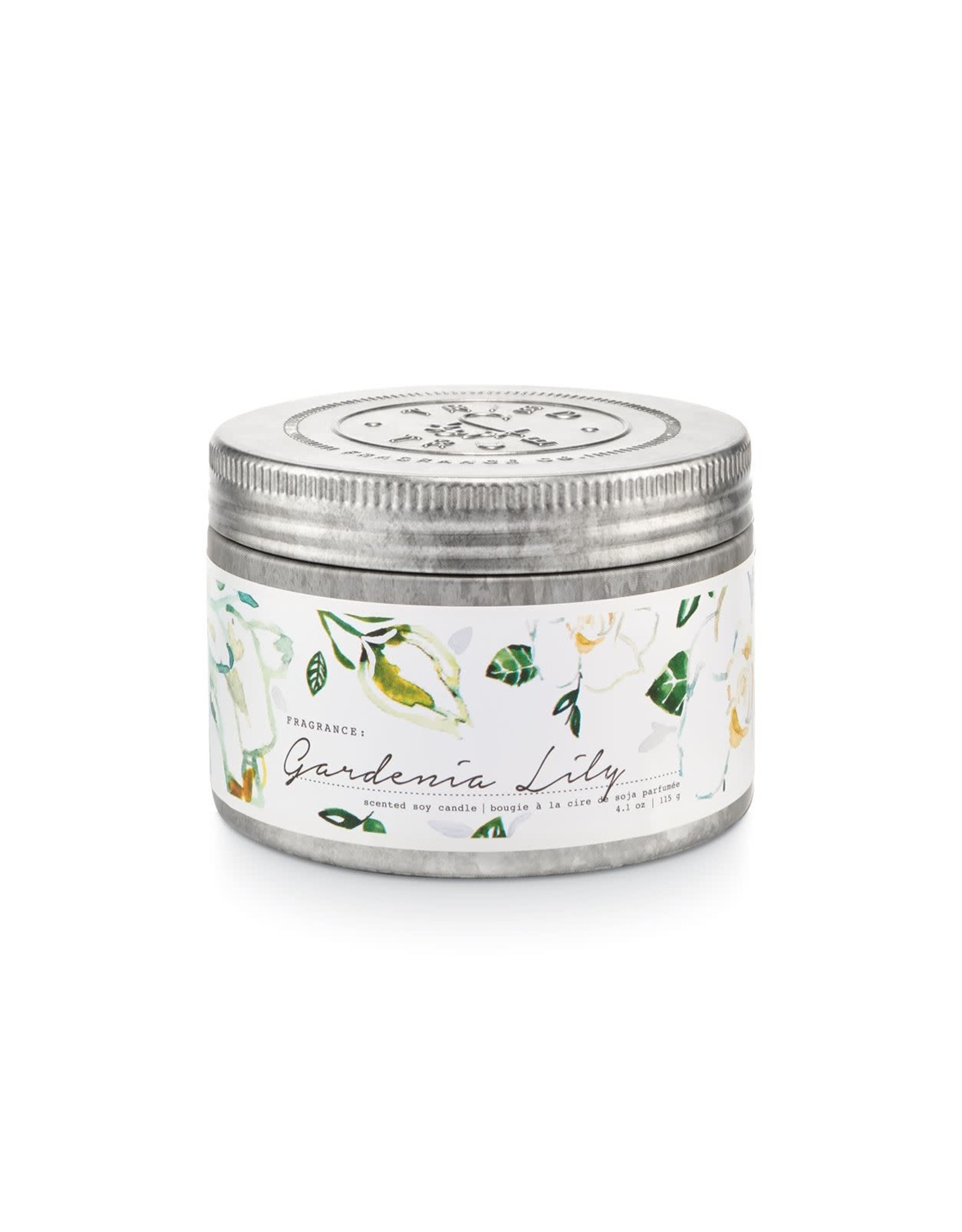 Tried & True 4.1 oz Tin Candle - Gardenia Lily