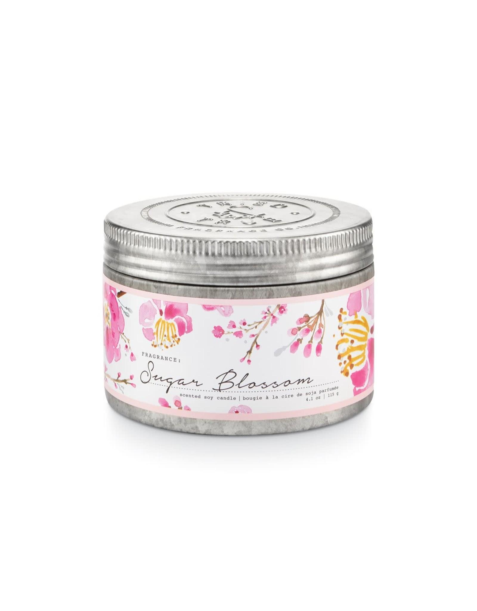 Tried & True 4.1 oz Tin Candle - Sugar Blossom