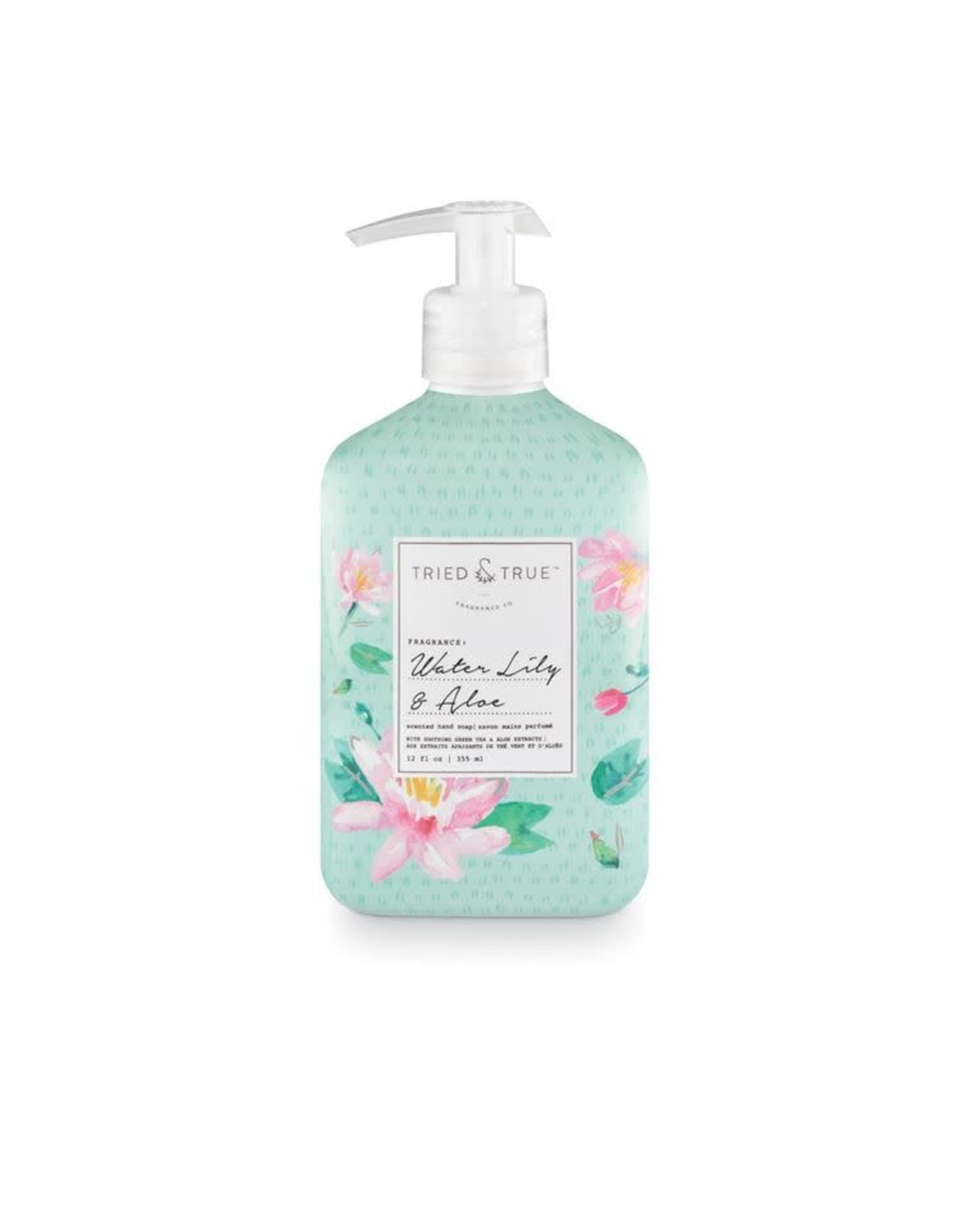 Tried & True 12 oz Hand Wash - Water Lily & Aloe