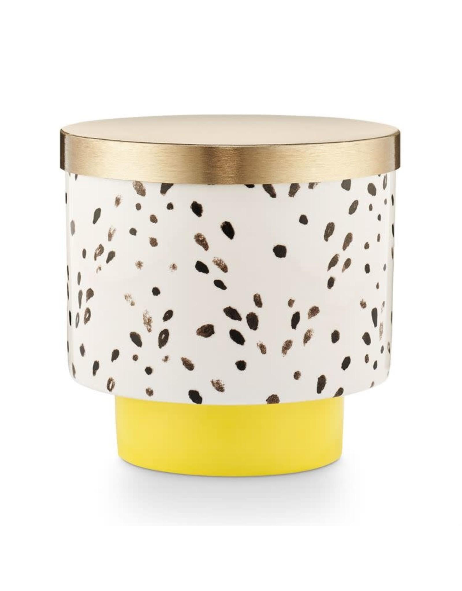 Illume Golden Honeysuckle Lidded Ceramic Candle