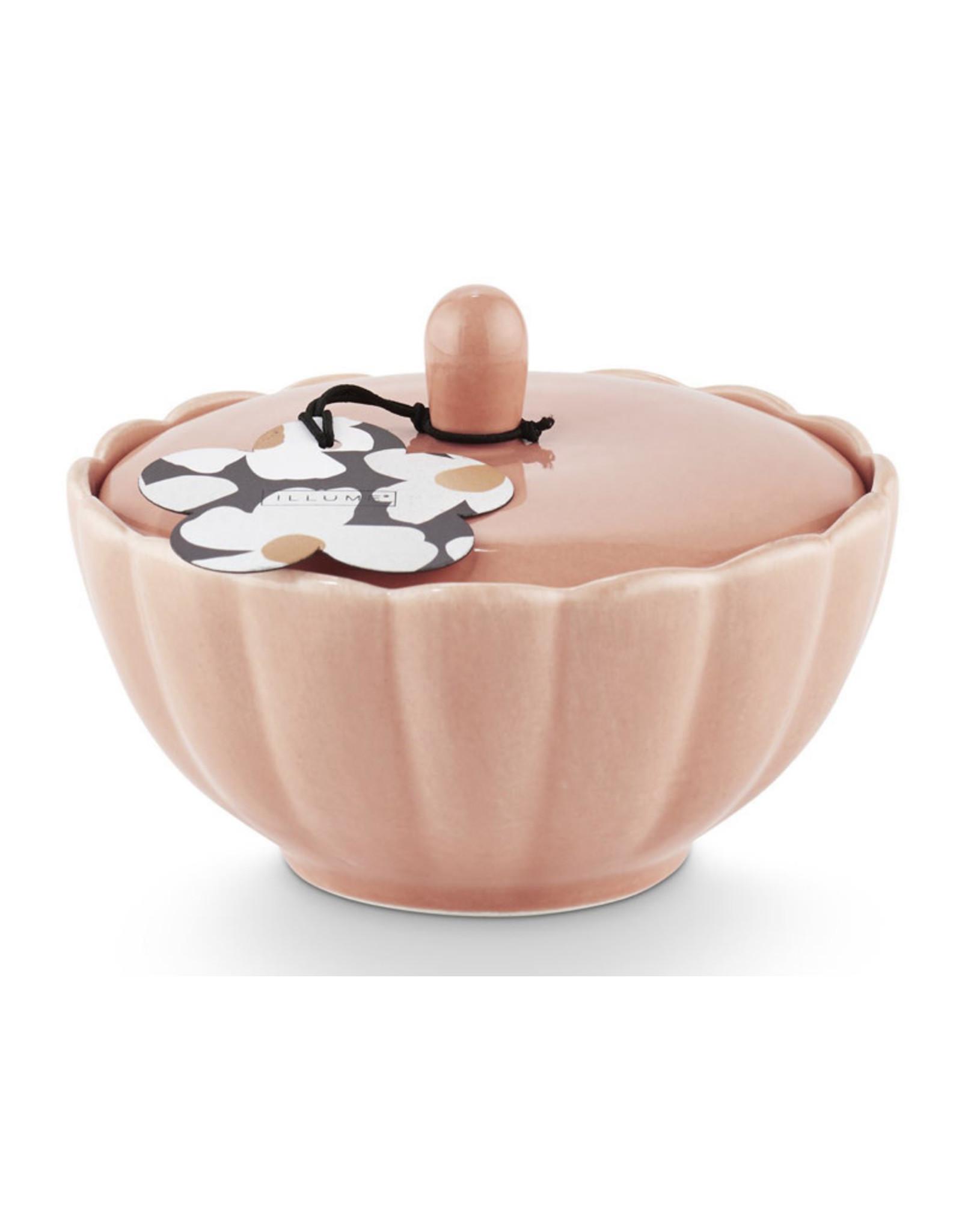 Illume Groovy Kind of Love Ceramic Candle