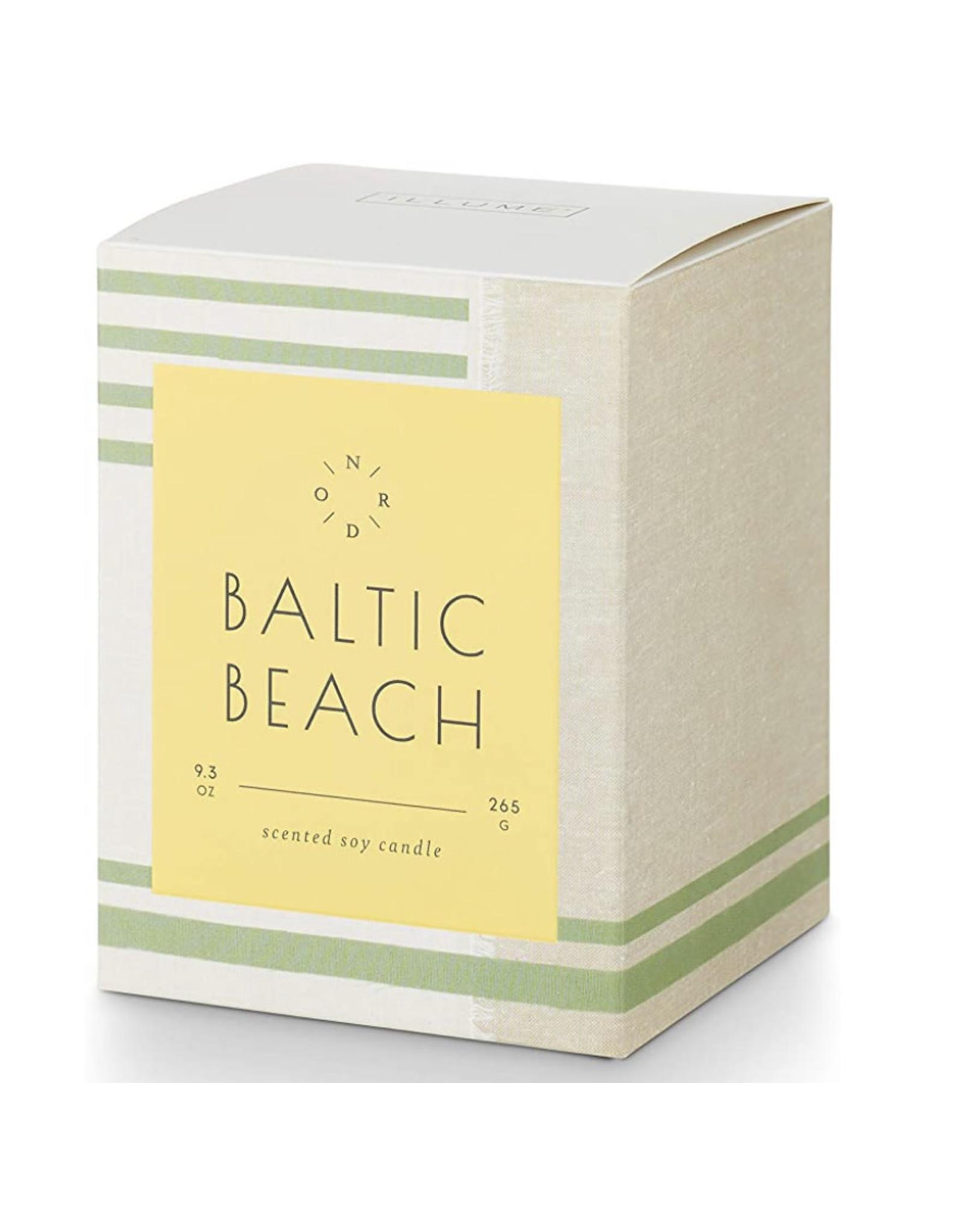 Illume Baltic Beach Fjord & Form Seafare Glass Candle