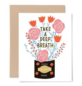 Gingiber Deep Breath Card