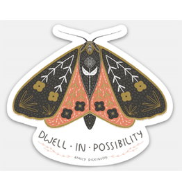 Gingiber Dwell In Possibility Sticker