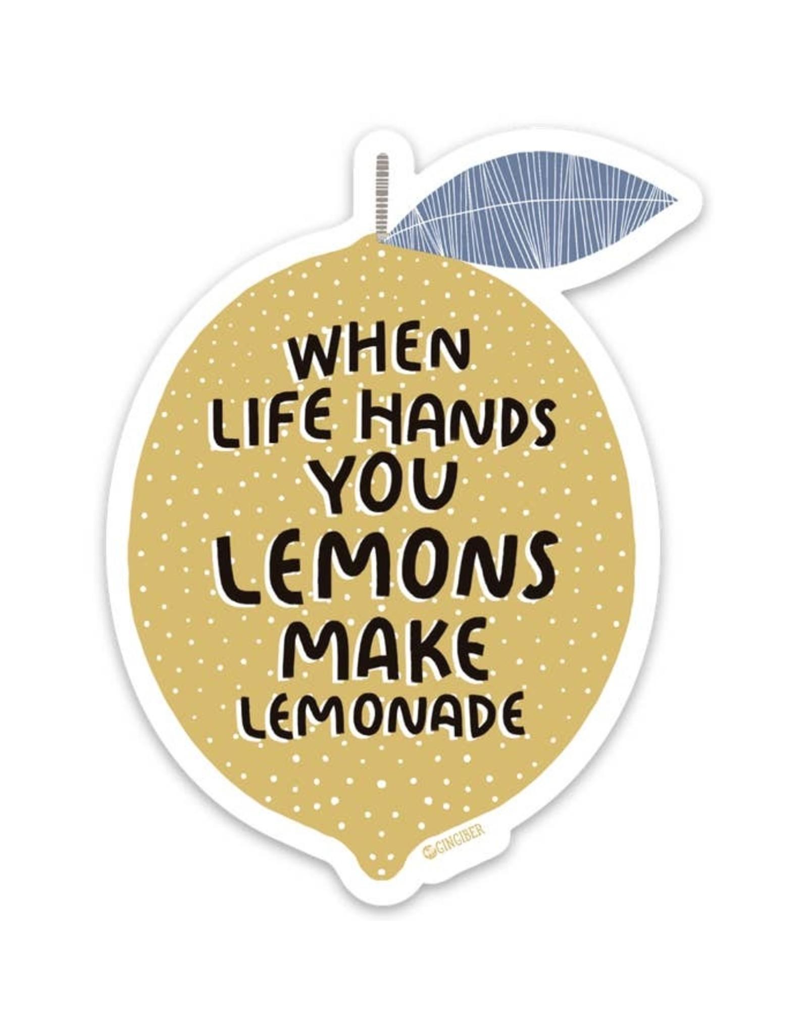 Gingiber Lemonade Sticker