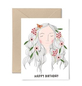 Gingiber Mother Nature Birthday Card
