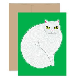 Gingiber Persian Cat Card